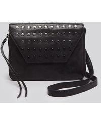 Olivia Harris Crossbody Shredder Ombre Stud Mini Amanda - Lyst