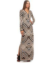 Trina Turk Finn Dress brown - Lyst