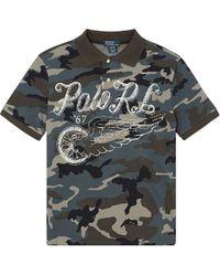Ralph Lauren Classic Camo Polo Shirt S-xl - Lyst