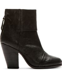 Rag & Bone Classic Newbury in Cow Leather - Lyst
