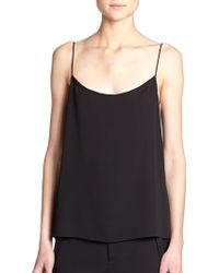 Helmut Lang Stretch Camisole black - Lyst