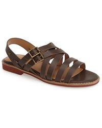 G.H.BASS - 'amidy' Leather Sandal - Lyst