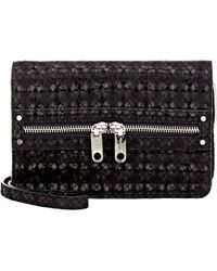 MILLY - Bowery Mini Crossbody-black - Lyst