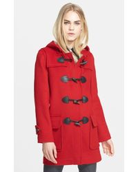 Burberry Brit Toggle-Front Duffle Coat - Lyst