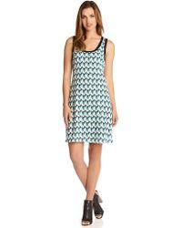 Karen Kane Crochet Tank Dress - Lyst