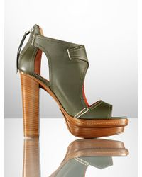 Ralph Lauren Collection Nappa Gemima Bootie - Lyst