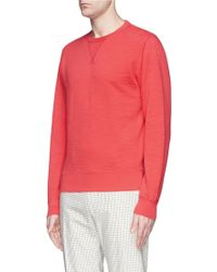 Alex Mill Cotton Slub French Terry Sweatshirt - Lyst