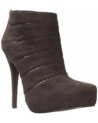 Nina | Halzey Ankle Bootie | Lyst