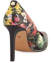 Elliott Lucca - Catalina Floral Pointed-toe Pump - Lyst