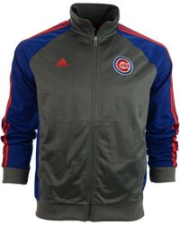 Adidas Boys Chicago Cubs Bullpen Jacket - Lyst