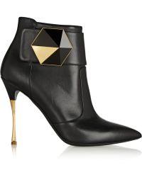 Nicholas Kirkwood Leather Ankle Boots - Lyst