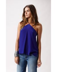 Cami Nyc The Halter Silk Cami - Lyst