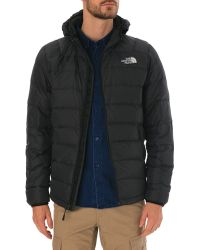 The North Face La Paz Black Hooded Anorak - Lyst
