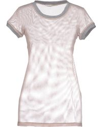 M. Grifoni Denim - T-Shirt - Lyst