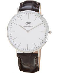 Daniel Wellington Classic York Watch - Lyst