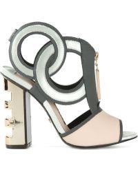 Kat Maconie 'Heidi' Bootie Sandals - Lyst