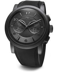 David Yurman - Classic 46Mm Black Pvd Chronograph Watch - Lyst