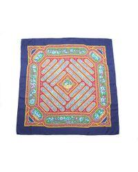 Hermes Pre-owned Qalamdan Silk Scarf - Lyst
