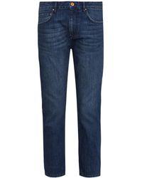 Etoile Isabel Marant Penn Cropped Slim-Leg Jeans - Lyst
