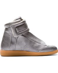 Maison Martin Margiela Silver Future High_top Sneakers - Lyst
