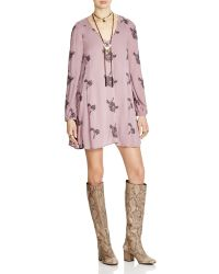 Free People | Emma's Embroidered Dress | Lyst