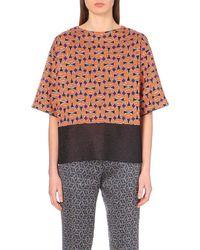 Dries Van Noten Bow Tie-Print Knitted Top - For Women - Lyst