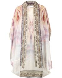 Camilla Halcyon Days Silk Coverup - Lyst