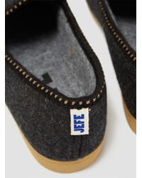 Industry of All Nations - Cabrales Slip-ons Heather Charcoal - Lyst