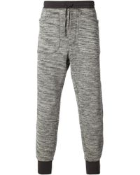 Diesel Black Gold Drawstring Sweat Pants - Lyst