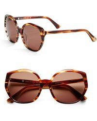 House Of Harlow 1960 Donnie 56Mm Round Sunglasses brown - Lyst