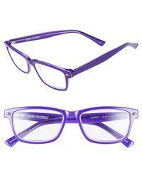 Corinne Mccormack - 'aubrey' 52mm Reading Glasses - Purple - Lyst