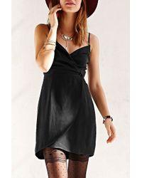 Sparkle & Fade - Surplice Wrap Dress - Lyst