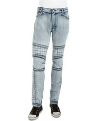 Rogue State - Quilted Moto Jean - Lyst