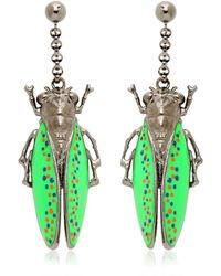 Vernissage Jewellery - Imperial Moth Earrings - Lyst