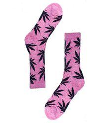 Huf Plantlife Crew Sock - Lyst