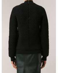 Christopher Kane 3d Knit Sweater - Lyst