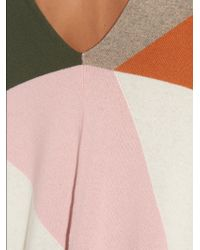 Queene And Belle - Koko Patchwork Cashmere Poncho - Lyst