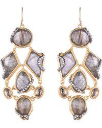 Alexis Bittar Multi Stone Dangling Earring - Lyst