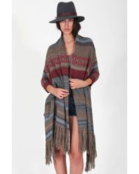 Goddis Kita Jacquard Sweater With Fringe - Lyst