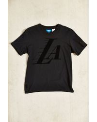 Adidas Originals Nba Los Angeles Lakers Logo Tee - Lyst