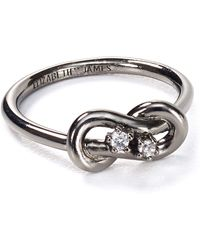 Elizabeth And James Catalan Pinky Ring - Lyst