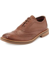 Ben Sherman Brent Lace-Up Wing-Tip Shoe - Lyst