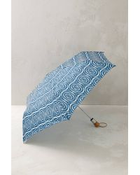 Anthropologie - Circle Ikat Umbrella - Lyst