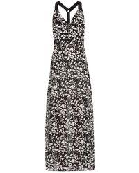 A.L.C. Patti Fan-Print Maxi Dress - Lyst