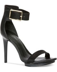 Calvin Klein Women'S Vivian High Heel Sandals - Lyst