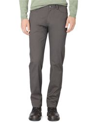 Calvin Klein Regular Fit Sateen Bowery Casual Pants - Lyst