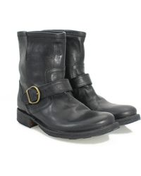 Fiorentini + Baker Eli in Leather Half Boots - Lyst