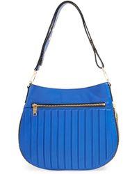 Milly Women'S 'Ludlow' Crossbody Bucket Bag - Blue - Lyst
