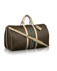 Louis Vuitton Keepall Bandouliãre 55 Mon Monogram - Lyst