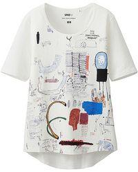 Uniqlo Sprz Ny Short Sleeve T-Shirt (Jean-Michel Basquiat) - Lyst